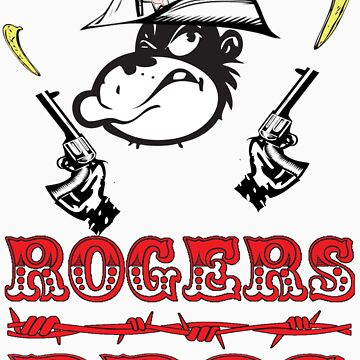 wild west tshirt rogers bros construction co by usacali