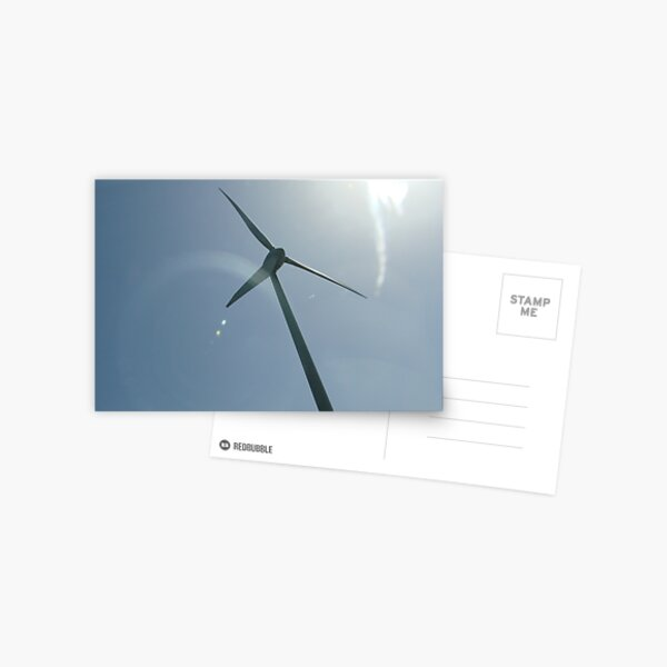 Solar Wind Postcard