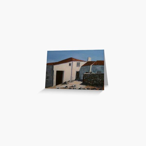 Casal Rural Saloio - Zona de Sintra - PORTUGAL Greeting Card