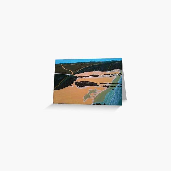 Zambujeira do Mar - Costa Vicentina, PORTUGAL Greeting Card