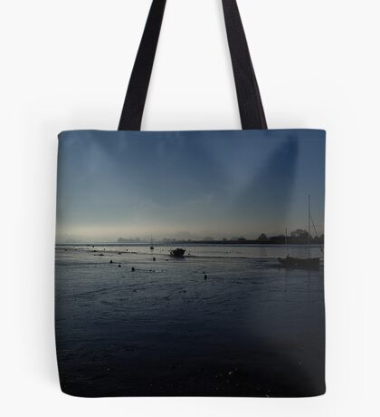 Downstream from Topsham Tote Bag