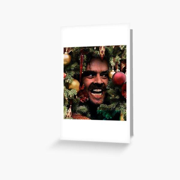 Torrance Winter The Shining Christmas Greeting Card
