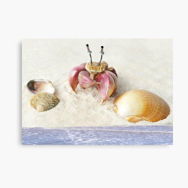 Garlic Crab Canvas Print