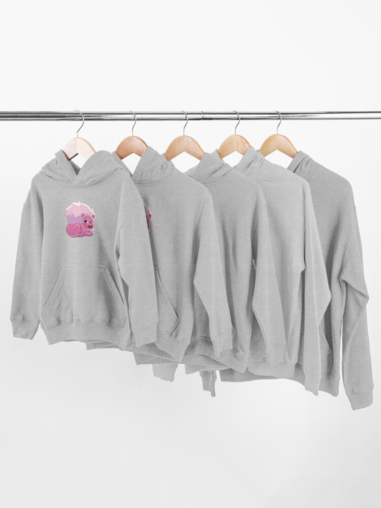 Alternate view of Lion - Steven Universe Kids Pullover Hoodie