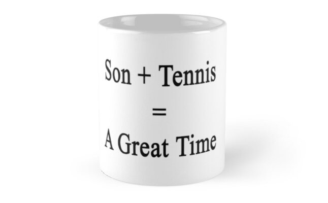 Son + Tennis = A Great Time by supernova23