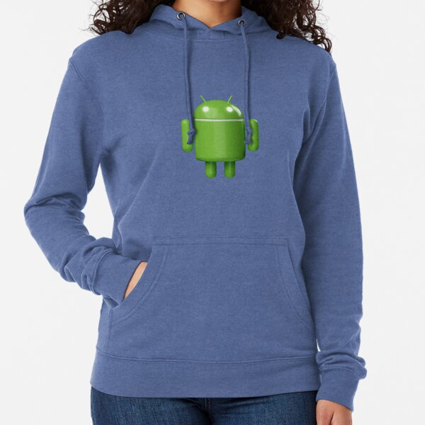 Android Robot 3D v2 Lightweight Hoodie