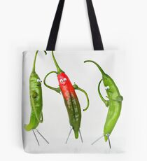 The Mysterious Case of Pepe, the Pepper. Tote Bag