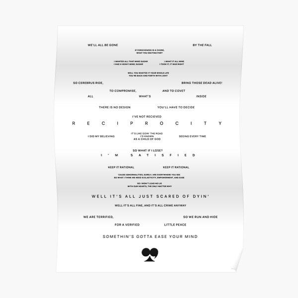 i,i (Lyric page) Poster