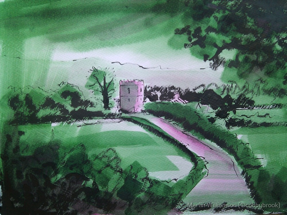 'Great Mitton: Where The Hodder and Ribble Meet' by Martin Williamson (©cobbybrook)