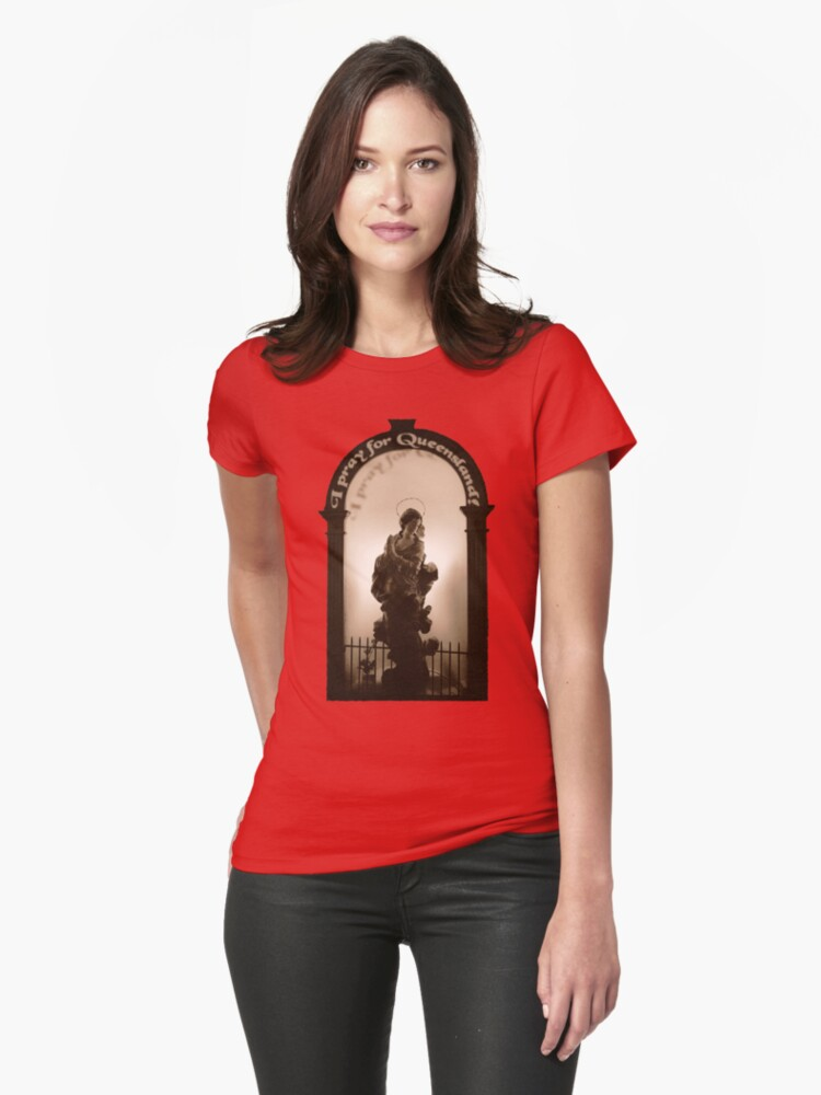 I pray for Queensland (T-Shirt) by Lenka