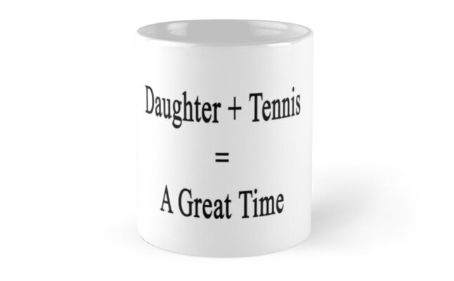 Daughter + Tennis = A Great Time by supernova23