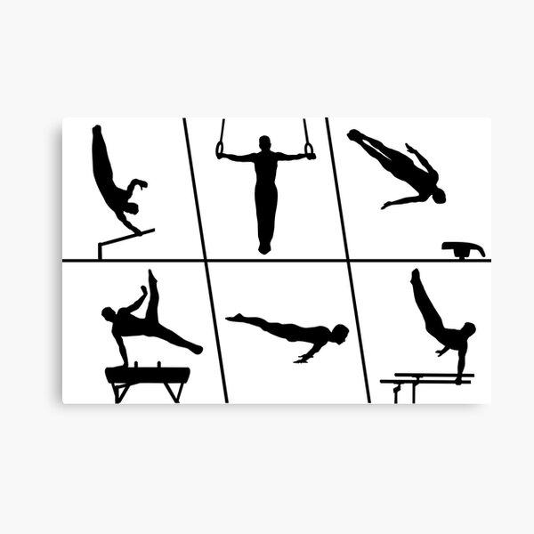 Gymnastics, Gymnastics - Men's Gymnastics Canvas Print