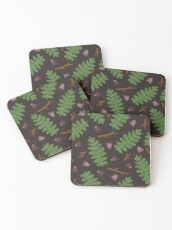 Fern forest Coasters