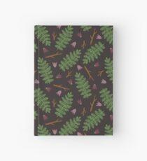 Fern forest Hardcover Journal
