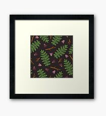Fern forest Framed Print