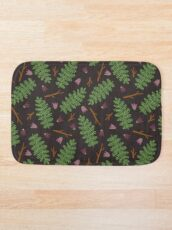 Fern forest Bath Mat