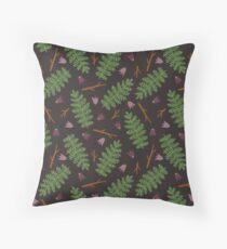 Fern forest Floor Pillow