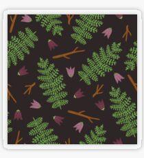 Fern forest Transparent Sticker