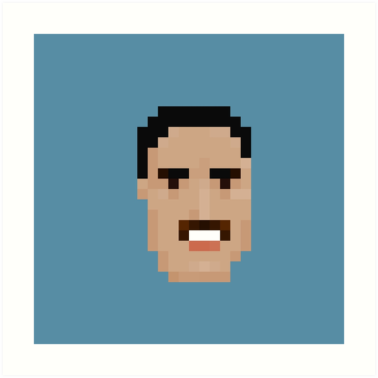 Freddie Face by pixelfaces