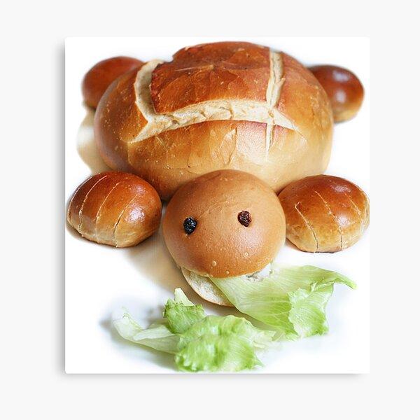 Turtle Bread Canvas Print