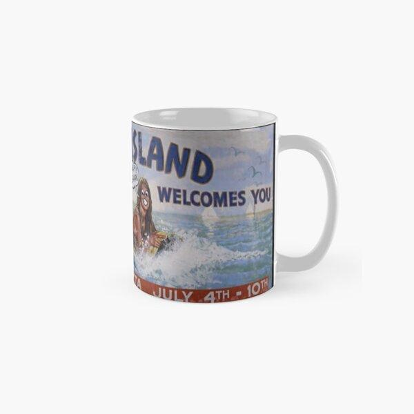 Bienvenue à Amity Island Mug classique