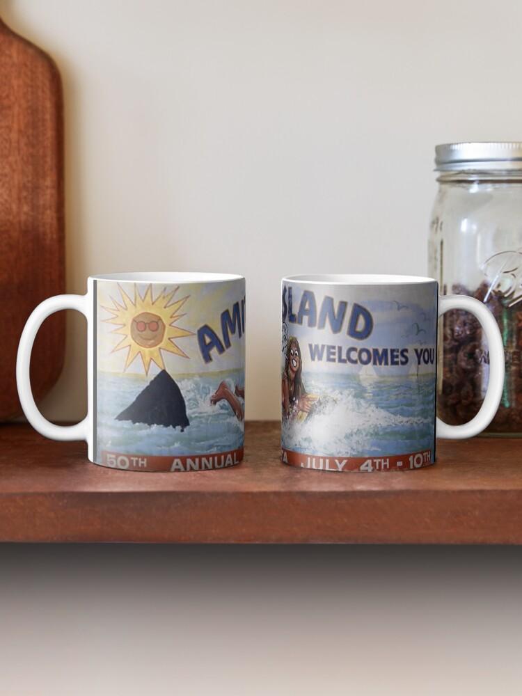 Alternate view of Welcome To Amity Island Mug