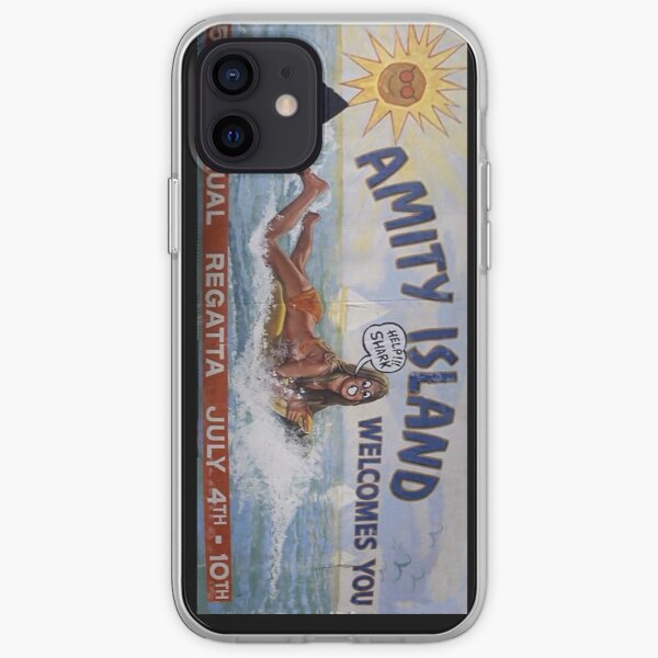 Welcome To Amity Island iPhone Soft Case