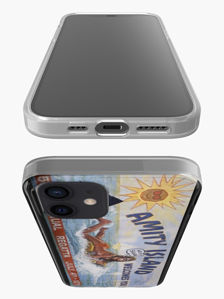 Alternate view of Welcome To Amity Island iPhone Case & Cover