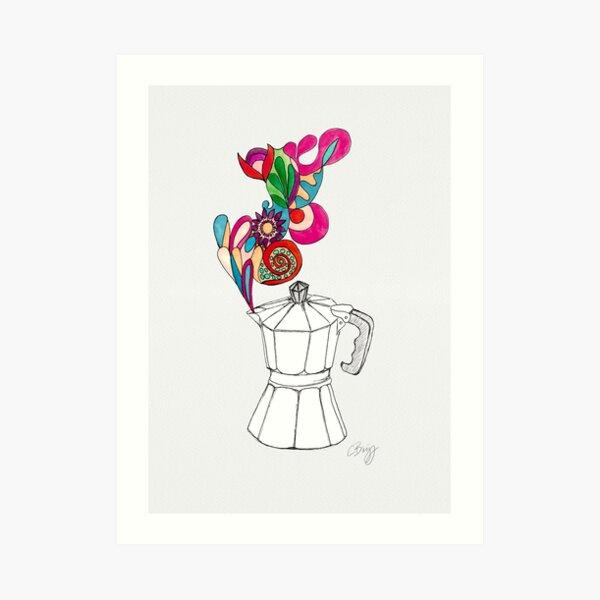 Coffee lover Kunstdruck