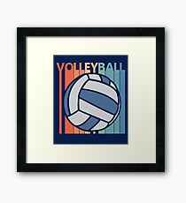 Volleyball Bal Framed Print