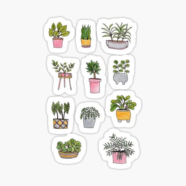Houseplant Love Sticker