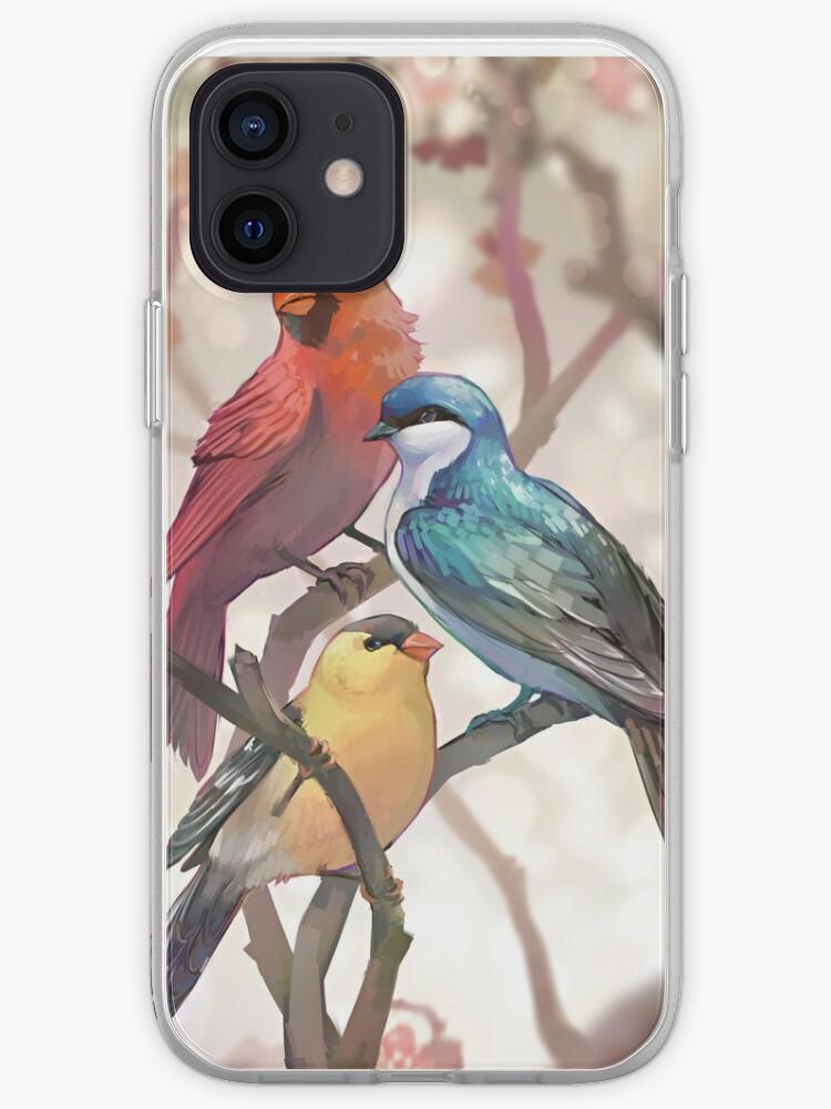Des oiseaux   Coque iPhone