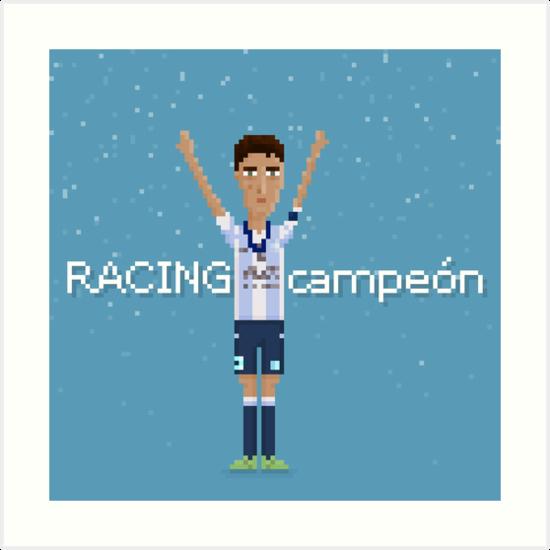 Racing campeón by pixelfaces