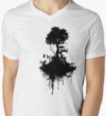 Last Tree Standing Men's V-Neck T-Shirt