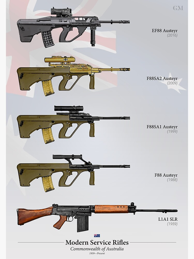 Service Rifles of Australia by nothinguntried
