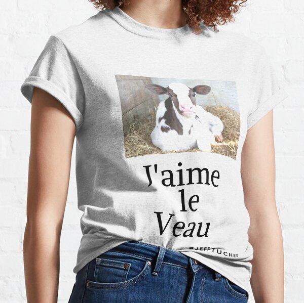 J'aime le veau  T-shirt classique