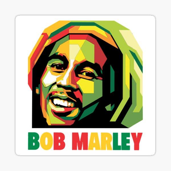 Bob Marley Pegatina