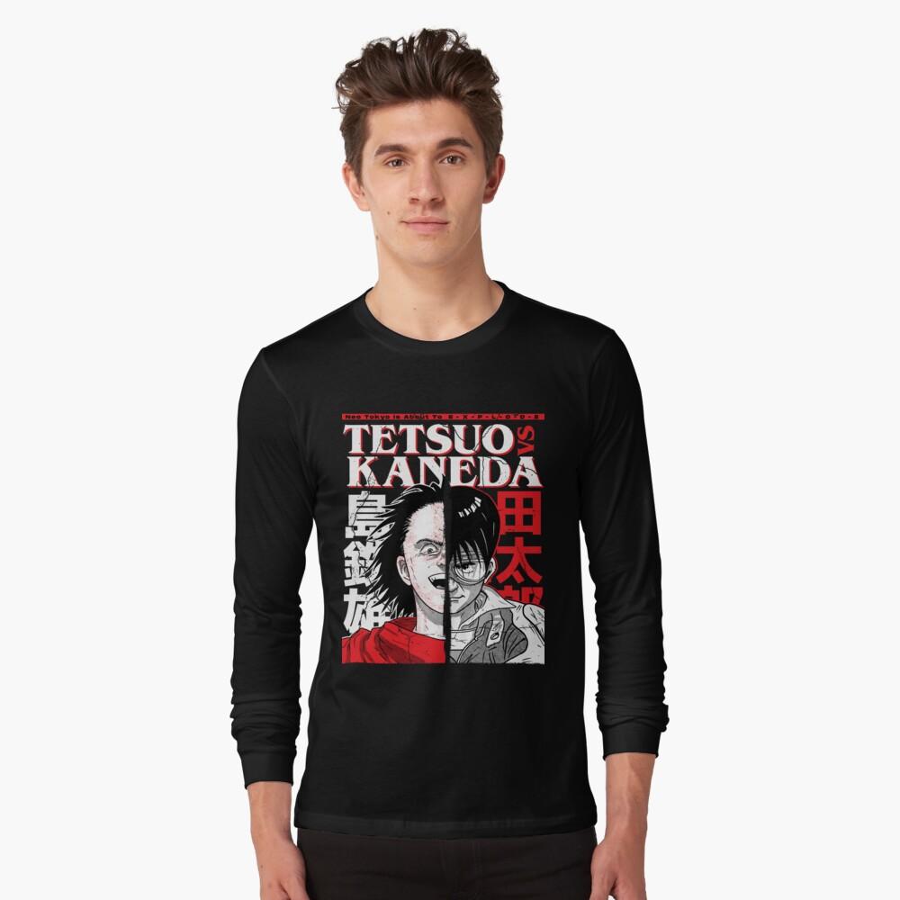 Tetsuo VS Kaneda Long Sleeve T-Shirt
