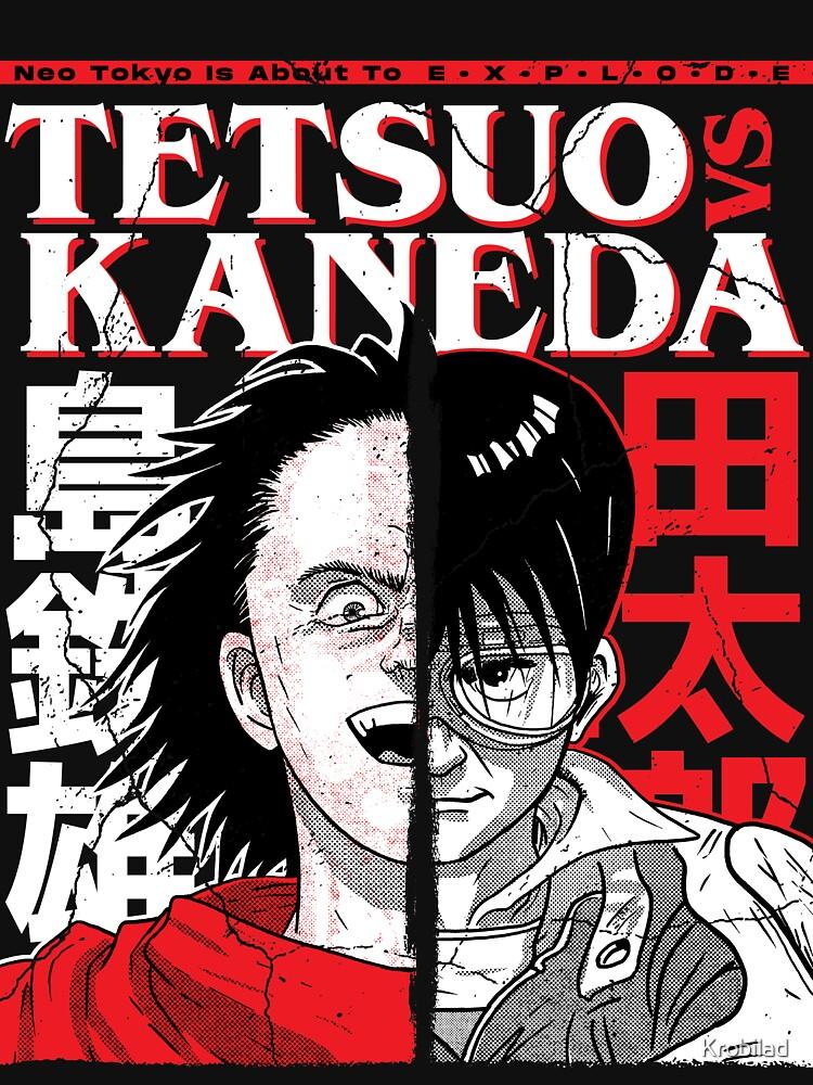 Tetsuo VS Kaneda by Krobilad