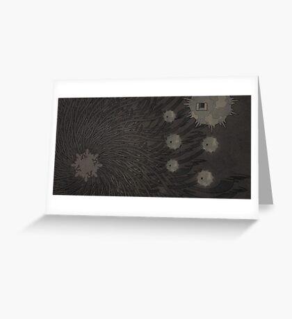 Karmic Blitz - 1 Greeting Card