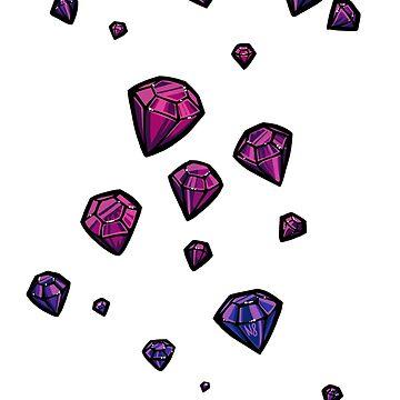 Purple Gems by N-Eight