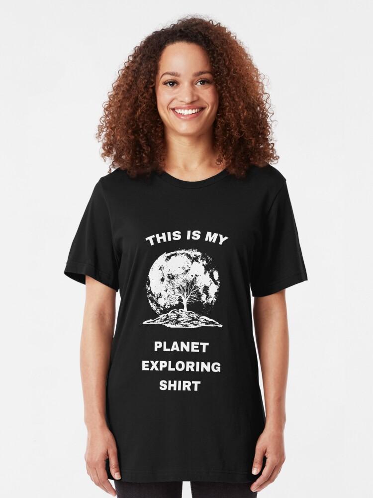 Alternative Ansicht von This Is My Planet Exploring Shirt - Exoplanet Slim Fit T-Shirt