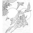 Dark Wings of Night by redqueenself