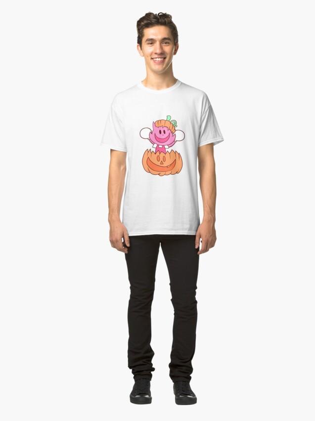 Alternate view of Pumpkin Chalk Classic T-Shirt