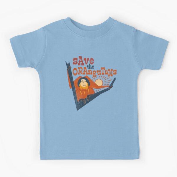Save the Orangutans Kids T-Shirt