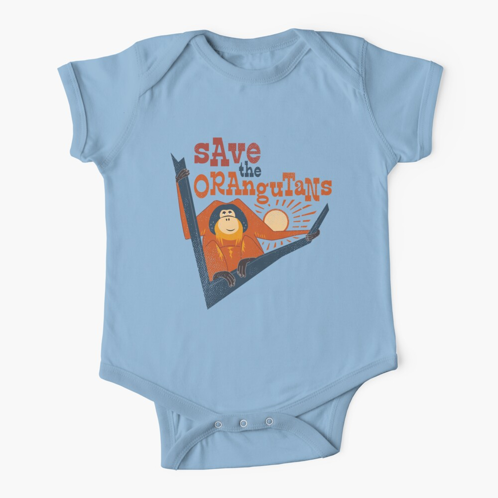 Save the Orangutans Baby One-Piece