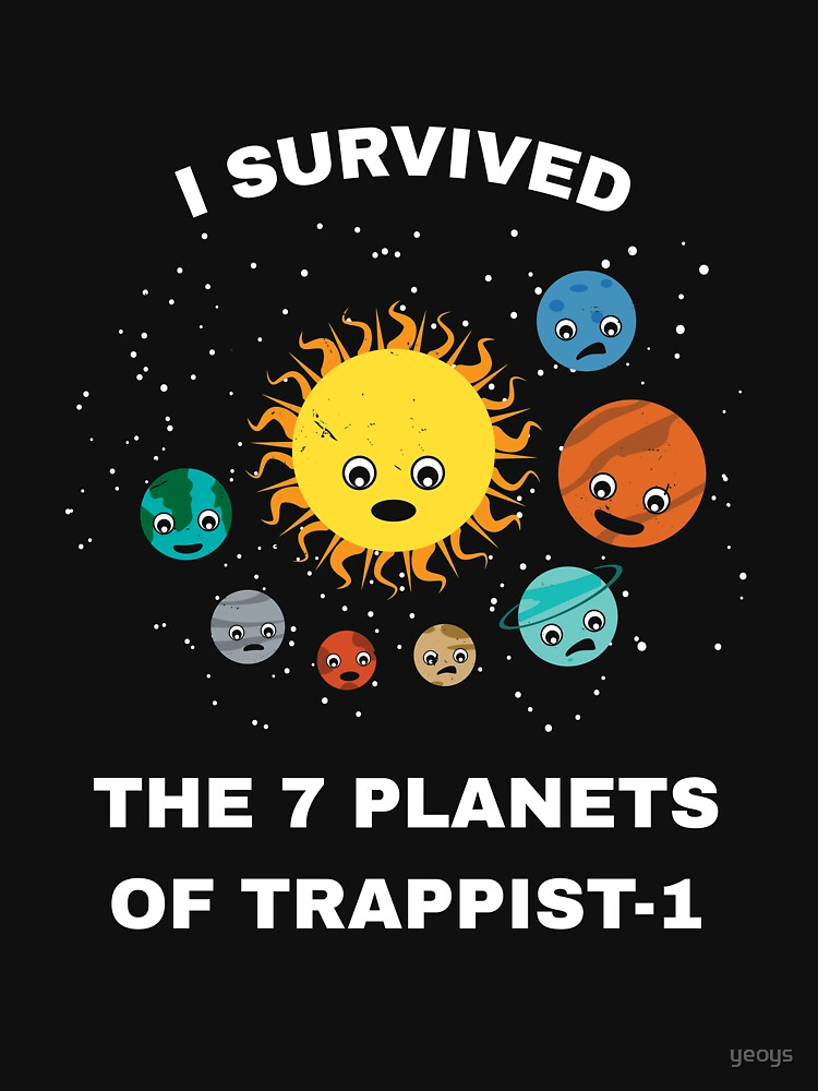 I Survived My Trip To 7 Planets Of Trappist-1 - Trappist by yeoys