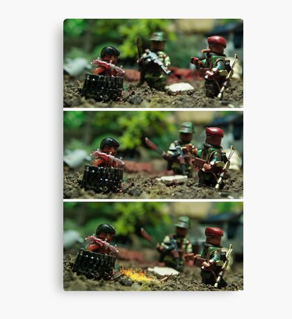 Lego Ethnic Cleansing Canvas Print