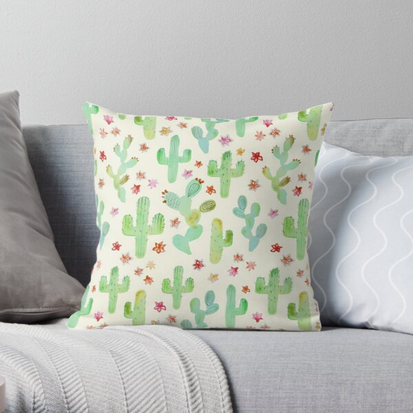 Watercolor Pillows Cushions Redbubble
