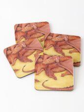 Let Sleeping Dragons Lie Coasters
